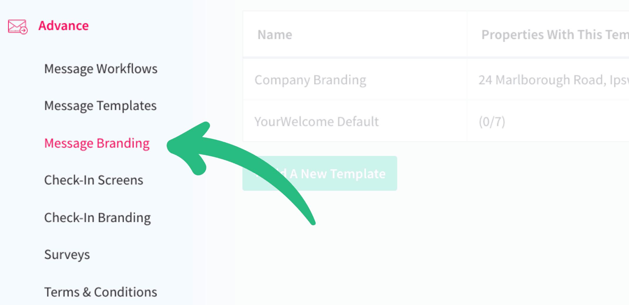 New branding template