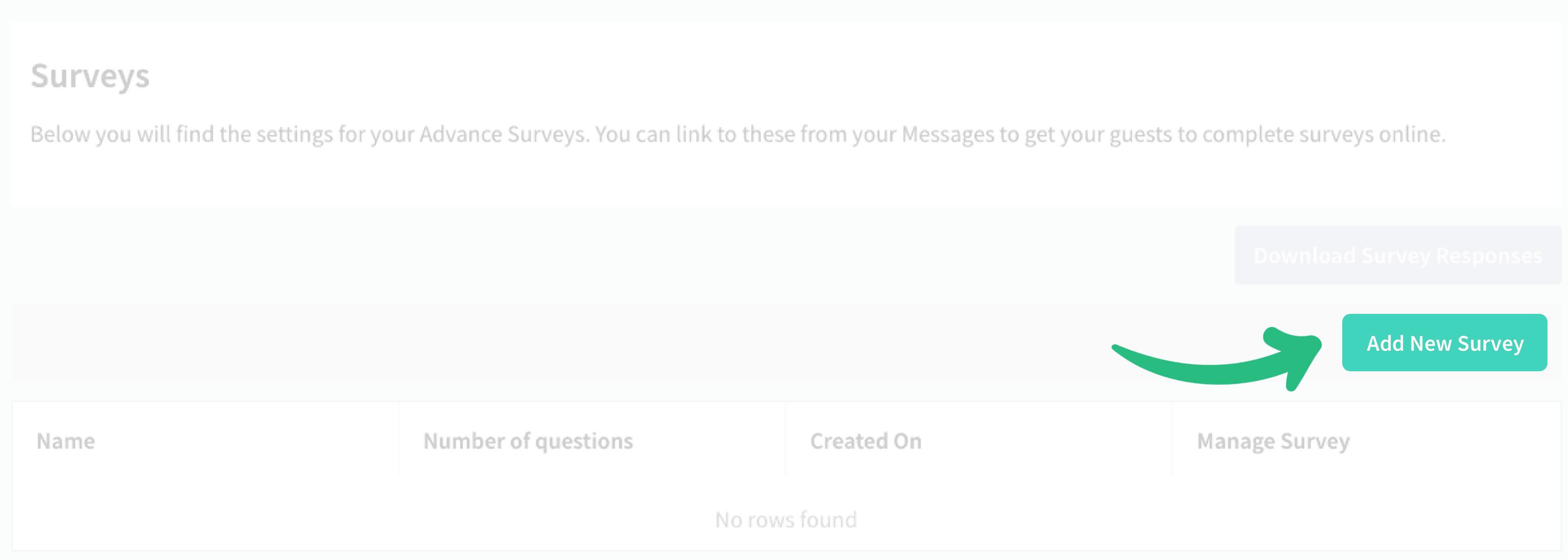 Downloading survey information